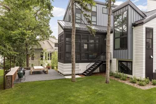 Sophisticated Modern — City Homes/Edina and Minneapolis Area Custom Home Builder