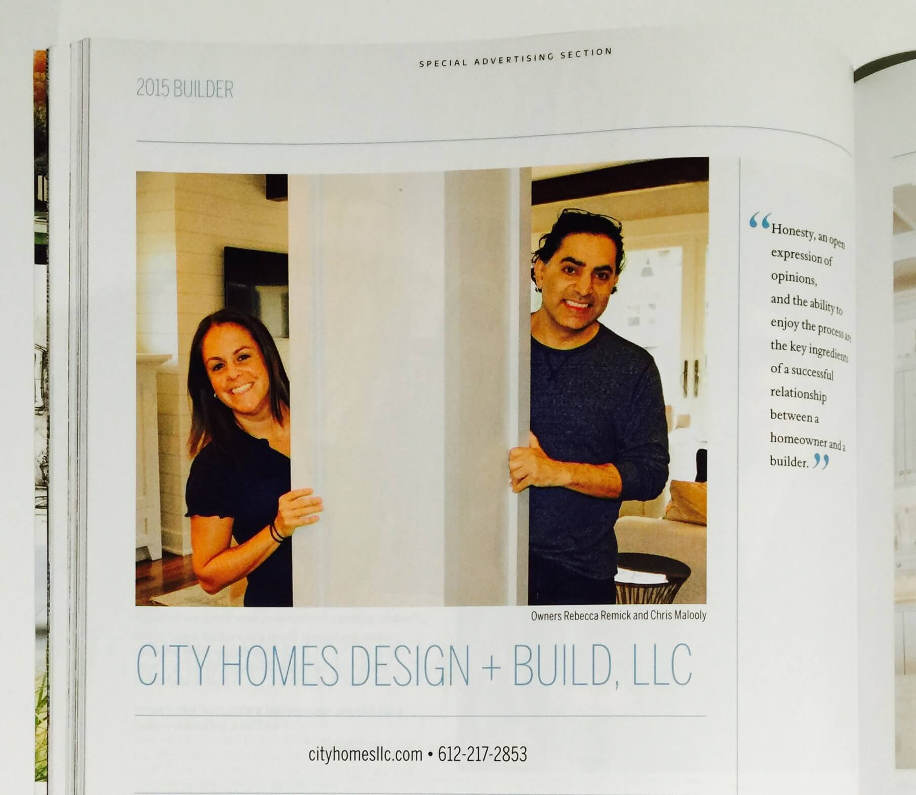 City Homes in Midwest Home Magazine