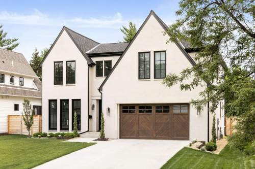 Modern Tudor on Fuller — City Homes/Edina and Minneapolis Area Custom Home Builder