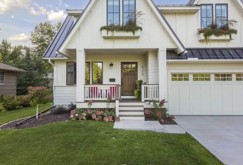 Farmhouse on Grimes — City Homes/Edina and Minneapolis Area Custom Home Builder
