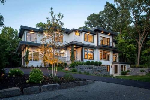 Lakeview Contemporary — City Homes/Edina and Minneapolis Area Custom Home Builder